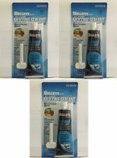 3 x SELLEYS 100% SILICONE SEALANT General Purpose Sealant Clear 75g USSIS75