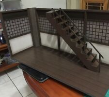 "GD-01-1/12: Paper-craft Diorama - 1/12 scale Dojo with Stair for 6"" figures"