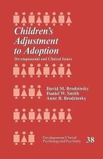 Developmental Clinical Psychology and Psychiatry Ser.: Children's Adjustment...