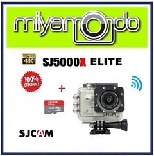 SJCAM Original SJ5000X WiFi Action Camera (Silver) + Sandisk Ultra microSD 32GB