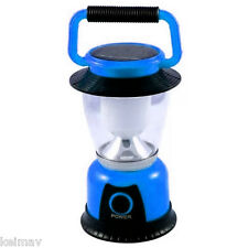 GSH-T6055 Rechargeable Solar LED Camping Lantern (Blue)