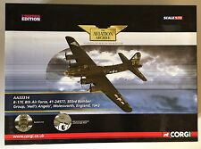 CORGI AVIATION ARCHIVE AA33314 HELLS ANGELS 1:72  B-17f, 8th AIR FORCE WW2 ~ EXC