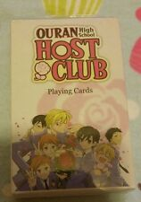 New and Sealed Ouran High School Host Club Playing Cards