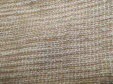 Quality Chenille Fireproof Upholstery Fabric In Natural Gold   Free UK P&P