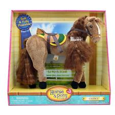Only Hearts Plush Horse Pony Club Soft & Full Poseable Chance Saddle & Long Hair