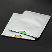 10x RFID Secure Protector Blocking ID Credit Card Sleeves Holder Case Skin New