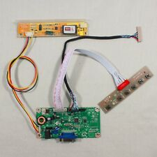 VGA LVDS input LED LCD Screen monitor Controller driver Board Kit diy panel