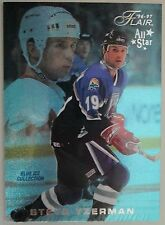 1996-97 Fleer Flair BLUE ICE #B31 Steve Yzerman 197/250 ----- Detroit Red Wings