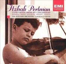 Concertos From My Childhood / Perlman, Foster, Lawrence Foster, Jean-Baptiste A,