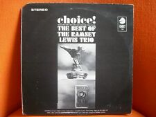 VINYL 33T – RAMSEY LEWIS TRIO : THE BEST OF – MOD JAZZ IN CROWD – CHOICE ! CHESS