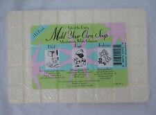 4LB New Life Of The Party Mold Your Own Moisturizing White Glycerin Soap 2 Pkgs