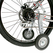 "Adjustable Adult Bicycle Bike Training Wheels Fits 24"" to 28"""