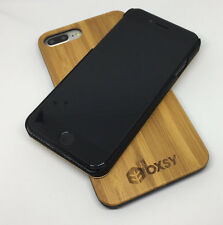 OXSY iPhone 7 Bamboo Real Wood iPhone Case Cover - 7 Slim Case