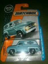 2017 MATCHBOX MBX ADVENTURE CITY '55 FORD F-100 DELIVERY TRUCK B