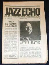 Jazz Echo - No. 42 - October 1979 - Arthur Blythe