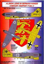 KORA Decals 1/72 HAWKER TEMPEST F.Mk.V British Aircraft in German Hands