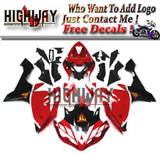 Injection Fit Yamaha YZF R1 07 08 ABS Fairings Kit Bodywork Sika White Red Blue