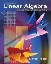Linear Algebra: A Modern Introduction (with CD-ROM) (Available Titles CengageNOW