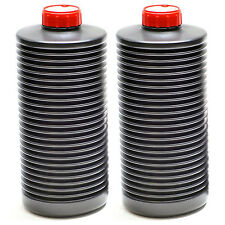 2x AP 1 Litre Collapsible Bottle Photographic Film Developing Chemicals Storage