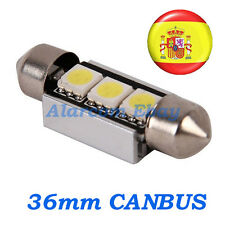 1 bombilla led 36mm C5W Festoon 5050 Canbus No Error #1001