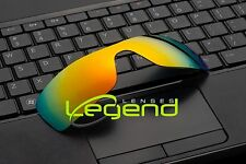 E37 FIRE ETCHED POLARIZED Replacement Legend Lenses For Oakley BATWOLF