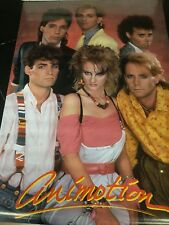 1985 Animotion Obsession New Wave Synth Pop band vintage poster rolled PBX2914