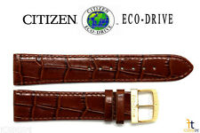Citizen BM0852-01A Eco-Drive Original 20mm Brown Leather Watch Band E110-S005264
