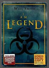 I AM LEGEND (DVD, 2-DISC SET, STEEL BOOK-CASE EDITION)-WIDESCREEN-NEW WITH DENTS