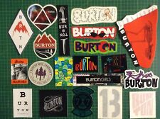 Burton Snowboard Sticker pack - set of 20 Burton snowboard stickers