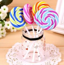 New listing Fd3703 Creative Lollipop Eraser Rubber Pencil Candy Stationery Cute Gift 1pc