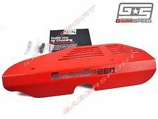 """IN STOCK"" GRIMMSPEED RED ALTERNATOR COVER FOR 2002-2014 WRX / 2004-2017 STI"