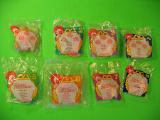 1996 McDonalds - Littlest Pet Shop / Transformers set of 8 *MIP*