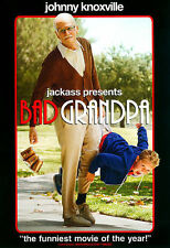 JACKASS PRESENTS BAD GRANDPA WIDESCREEN DVD MOVIE JOHNNY KNOXVILLE FREE SHIPPING