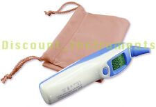 Portable Digital Temperature Ear Body & Surface Thermometer Baby Adult °C & °F