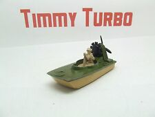 MATCHBOX NO 30 SWAMP RAT ARMY BOAT GREEN SUPERFAST 77 MM LONG