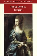 Cecilia, or Memoirs of an Heiress (Oxford World's Classics) Burney, Frances Pap