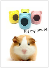 1pcs Hamster House Nest Ceramics Summer Cool Home for Rat Mice Mouse Toy House