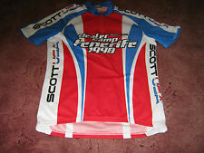 "Scott USA Dealer CAMP 1998 Italiano Ciclismo Jersey [40""]"