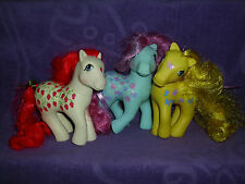 My Little Pony G1 Twice As Fancy Lot Sugarberry,Dancing Butterflies,Sweet Tooth