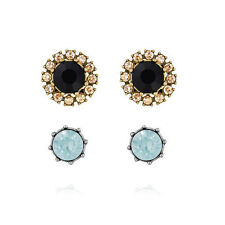 Chloe and Isabel Trevi Convertible Halo Stud Earrings NWT