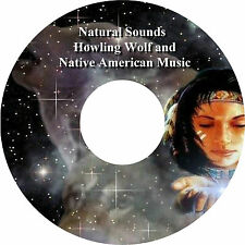Natural Sounds Howling Wolf Wolves Native American Music CD Relaxation Sleep Aid
