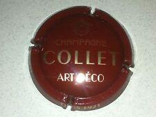 Capsule de champagne COLLET (5e. Jéro, art déco)
