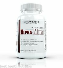 Active Mens ALPHA MULTI - High Performance Multivitamin for Complete Male Health
