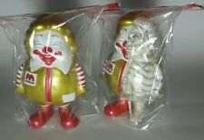 Ron English supersize Ronald McDonald gold new years  secret base dissected set
