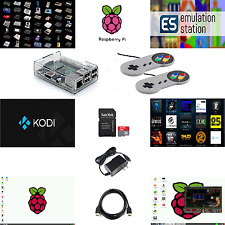RASPBERRY PI 3 EMULATION CONSOLE - 16GB - SNES STYLE BUNDLE (RETRO GAMING &