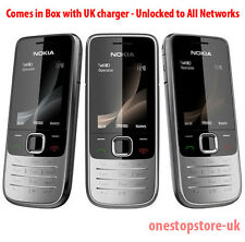 Nokia 2730c Silver Black 3G Mobile Phone 3G Network Phone Unlocked To All