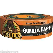 Black Gorilla Glue Tape All Weather Duct Outdoor Large Roll 6074004 1.88 X 35YD