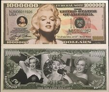 Marylin Monroe Million Dollar Bill