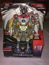 POWER RANGERS 18 INCH INTERACTIVE MOVIE MEGAZORD includes MINI RANGERS **NEW**
