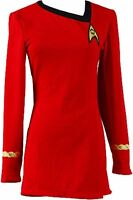 Star Trek The Female Duty Red Uniform Dress Cosplay Costume